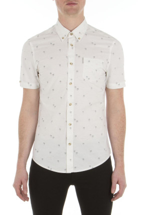 Ss Palm Tree Shirt