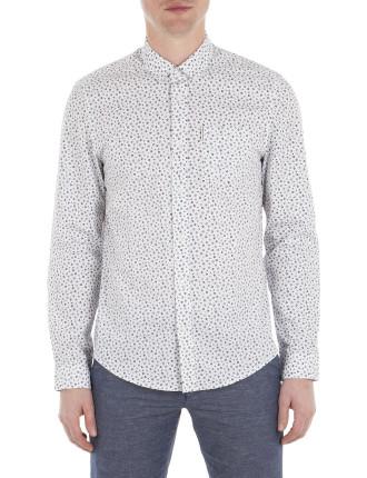 Ls Ditsy Floral Shirt