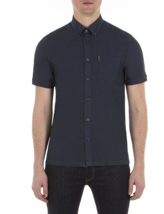 Ss Slub Plain Shirt