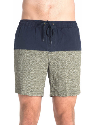SANDBAR NIHON WAVE COLOURBLOCKED SHORT