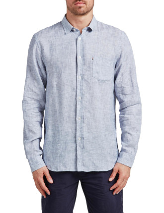 Springs Chambray Linen Shirt