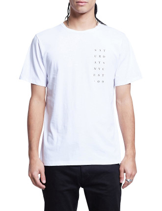 Stacked 09 S/S Tee