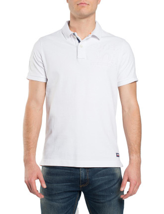 CLASSIC S/S UPSTATE EMBS POLO