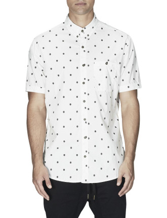 S/S Seven Ft Baseball Print Shirt