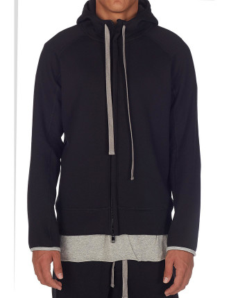 Fleece Hooded Sweater