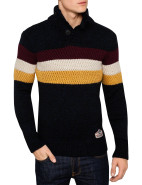 Ski Dog Henley Knit $189.95
