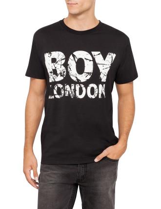Boy Distressed Print T-Shirt