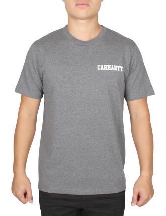 S/S College Script T-Shirt