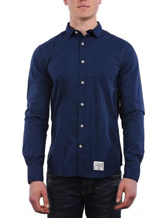 L/S Vintage Laundered-Cut Collar Shirt