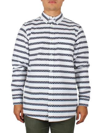 L/S Polka Stripe Shirt