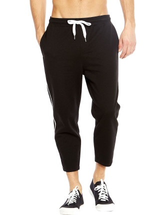 Black Pipping Jogger