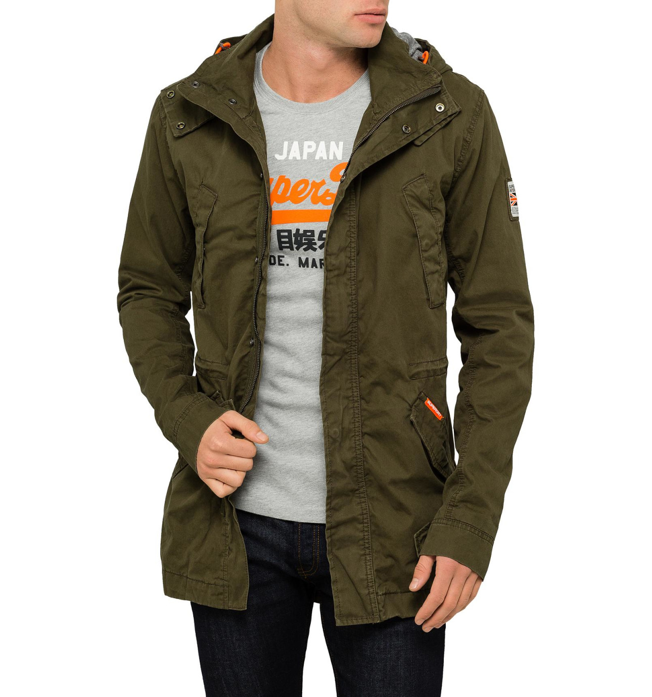 Mens jacket david jones - Rookie Duty Parka