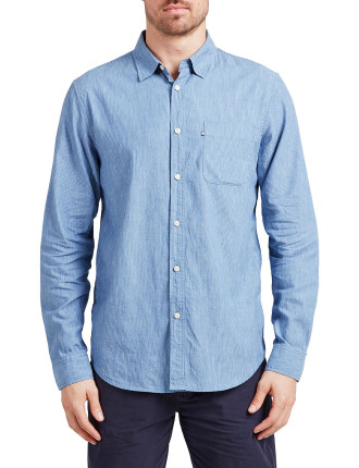 Harvery Linen Check Shirt