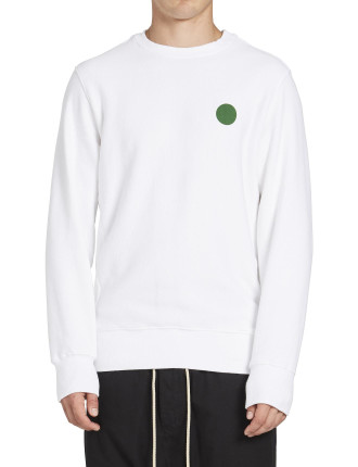 Branded Dot Crew Sweat