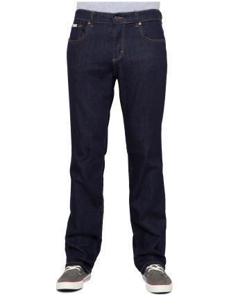 Mid-Low Straight Rinsewash Jean