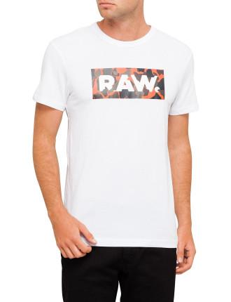 Olok Raw Logo Happy Camo S/S Tee