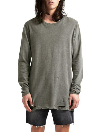 Sioux Faded Army LS Tee