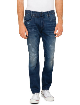 D-Staq 5-Pkt Tapered Yinze Rigid Denim