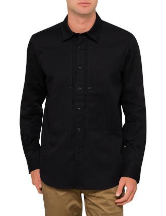 Rackam Denim Straight L/S Shirt