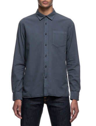Henry Batiste Garment Dye LS Shirt