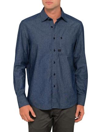 H-A Stalt Straight Shirt L/S
