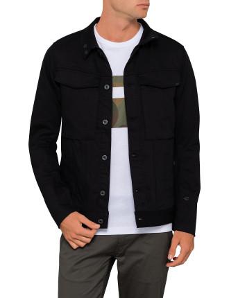 Vodan 3D Slim Jacket Black Superstretch