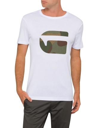 Mai Slim Camo G Logo S/S Tee