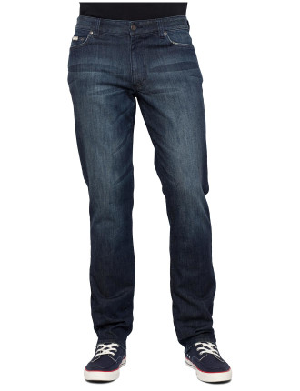 Slim Mid Blue Vintage Jean
