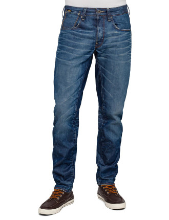 A Crotch Tapered Jeans