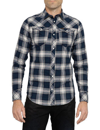 Arc 3d Long Sleeve Check Shirt