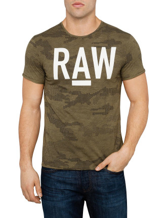 A-Camo All Over Round Neck Tee