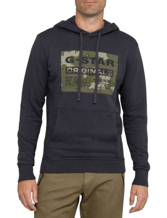 Fagan Hooded Long Sleeve Sweat