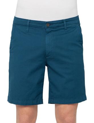 Slim Khaki Short