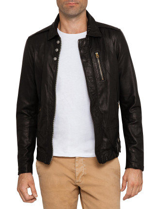 L-Heiko-2 Leather Jacket