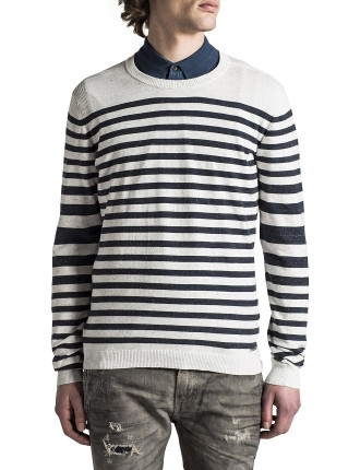 K-Colour Stripe Knit