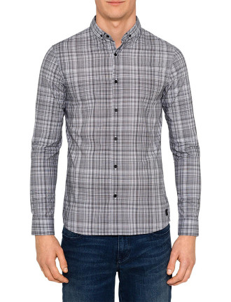 Warrick Long Sleeve Check Shirt
