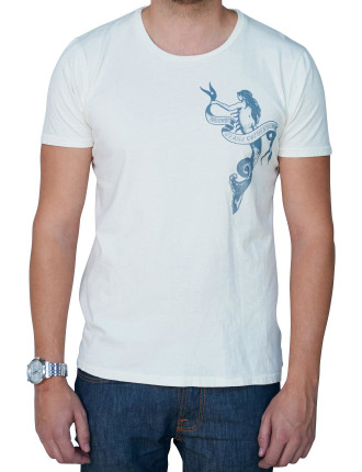 Round Neck Mermaid T-Shirt