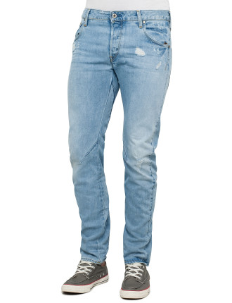 Arc 3d Slim Jean Wisk Denim