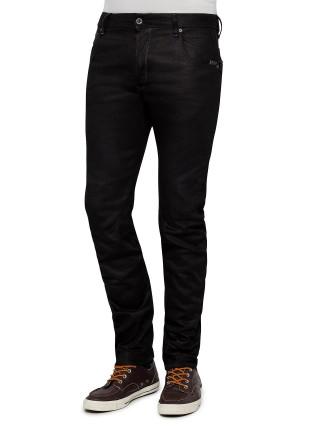 Arc Zip 3d Slim Hoist Black Jean
