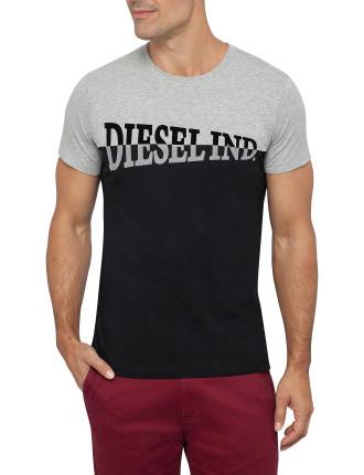 T-Blokk Flocked T-Shirt