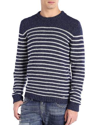 K-Boletus Striped Knit