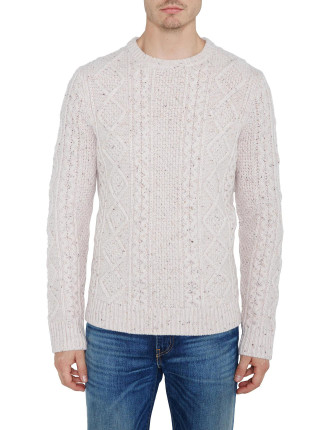 Fisherman Cable Crew Jumper