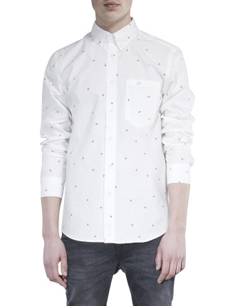 L/S Stanley Flash Print Shirt