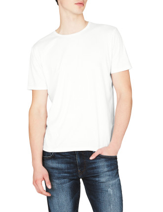 Liam Printed Snow Washed  Ss T-Shirt