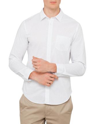 Lucas L/S  Printed Shirt