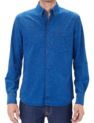 Deep Blue Indigo Shirt