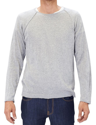 Fine Cotton Crew Sweater