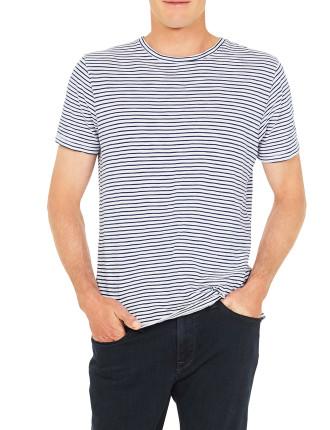 Liam S/S Stripe Tee