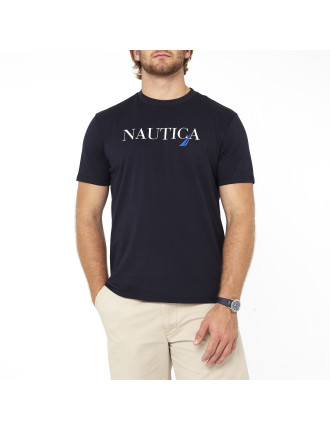 Nautica J Glass Graphic Tee