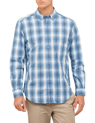 Ls Plaid Shirt